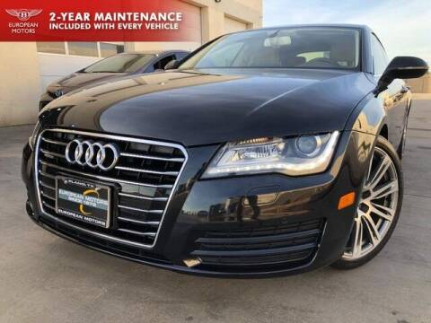 2014 Audi A7 for sale at European Motors Inc in Plano TX
