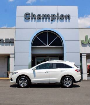 2018 Acura RDX for sale at Champion Chevrolet in Athens AL