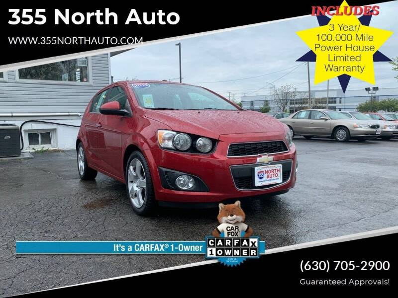 2012 Chevrolet Sonic for sale at 355 North Auto in Lombard IL