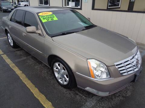 2007 Cadillac DTS for sale at BBL Auto Sales in Yakima WA
