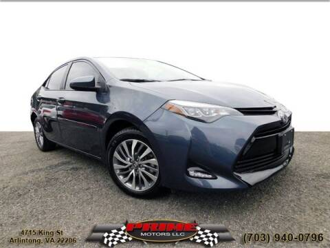 2018 Toyota Corolla for sale at PRIME MOTORS LLC in Arlington VA