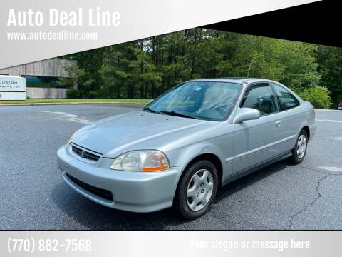 1998 Honda Civic for sale at Auto Deal Line in Alpharetta GA