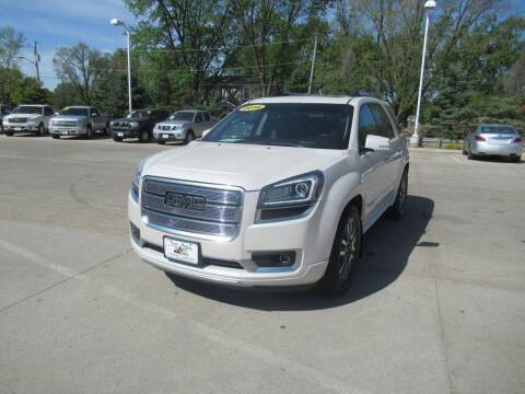 2014 GMC Acadia for sale at Aztec Motors in Des Moines IA