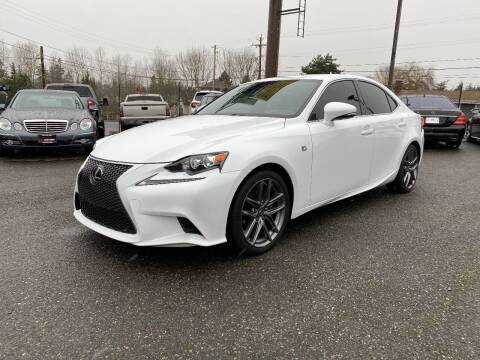 2015 Lexus IS 250 for sale at LKL Motors in Puyallup WA