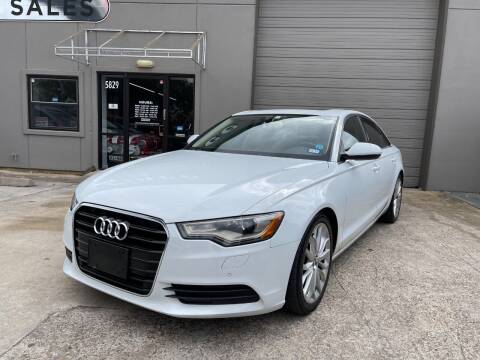 2012 Audi A6 for sale at PARK PLACE AUTO SALES in Houston TX