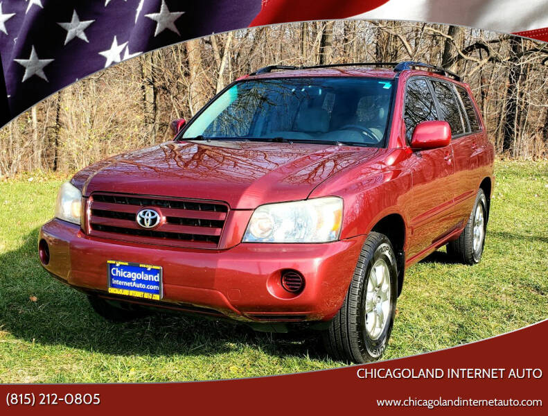 2007 Toyota Highlander for sale at Chicagoland Internet Auto - 410 N Vine St New Lenox IL, 60451 in New Lenox IL