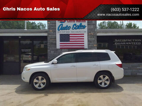 2008 Toyota Highlander for sale at Chris Nacos Auto Sales in Derry NH