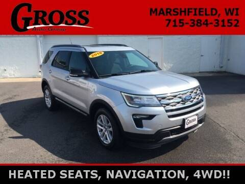 2018 Ford Explorer for sale at Gross Motors of Marshfield in Marshfield WI