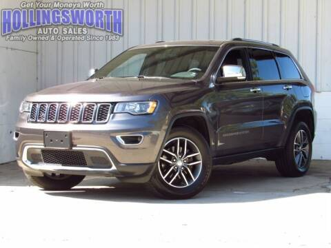 2017 Jeep Grand Cherokee for sale at Hollingsworth Auto Sales in Raleigh NC
