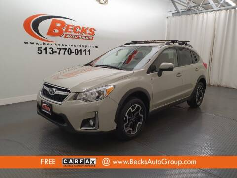 2017 Subaru Crosstrek for sale at Becks Auto Group in Mason OH