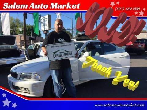 2002 BMW 3 Series for sale at Salem Auto Market in Salem OR
