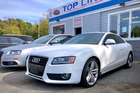2009 Audi A5 for sale at Top Line Import of Methuen in Methuen MA