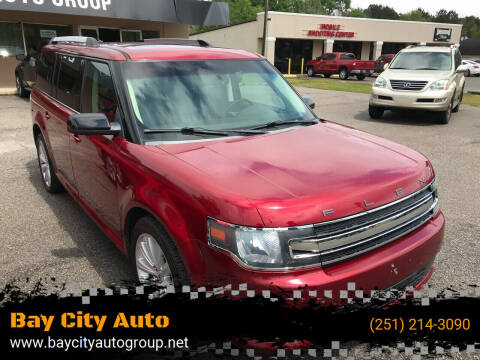 2014 Ford Flex for sale at Bay City Auto's in Mobile AL