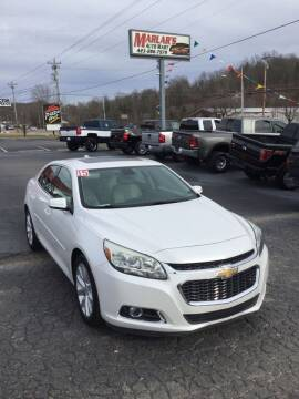 2015 Chevrolet Malibu for sale at MARLAR AUTO MART SOUTH in Oneida TN
