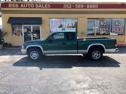 2003 Dodge Dakota for sale at BSS AUTO SALES INC in Eustis FL
