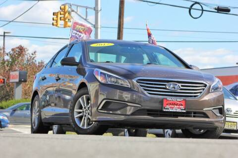 2017 Hyundai Sonata for sale at Dina Auto Sales in Paterson NJ