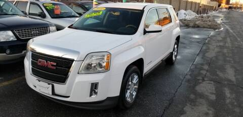 2010 GMC Terrain for sale at Howe's Auto Sales in Lowell MA