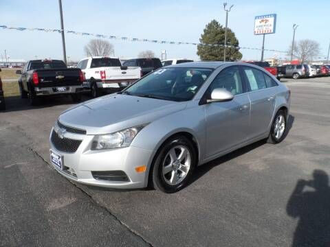 2013 Chevrolet Cruze for sale at America Auto Inc in South Sioux City NE