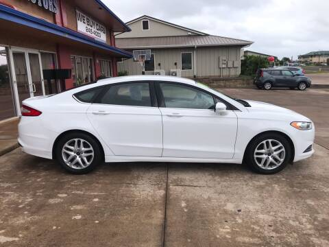 2016 Ford Fusion for sale at Ohana Motors in Lihue HI