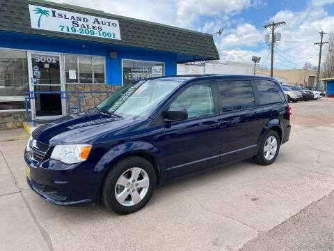 2014 Dodge Grand Caravan for sale at Island Auto Sales in Colorado Springs CO