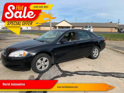2007 Chevrolet Impala for sale at World Automotive in Euclid OH
