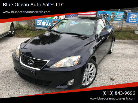 2008 Lexus IS 250 for sale at Blue Ocean Auto Sales LLC in Tampa FL