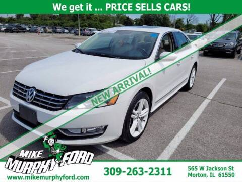 2012 Volkswagen Passat for sale at Mike Murphy Ford in Morton IL
