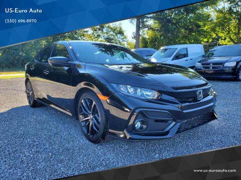 2020 Honda Civic for sale at US-Euro Auto in Burton OH