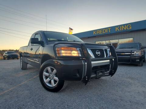 2008 Nissan Titan for sale at Kredit King Autos in Montgomery AL