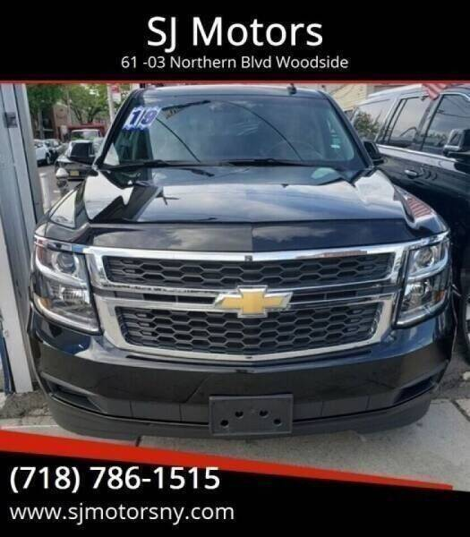 2019 Chevrolet Suburban for sale at Shah Jee Motors in Woodside NY