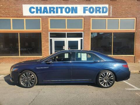 2017 Lincoln Continental for sale at Chariton Ford in Chariton IA