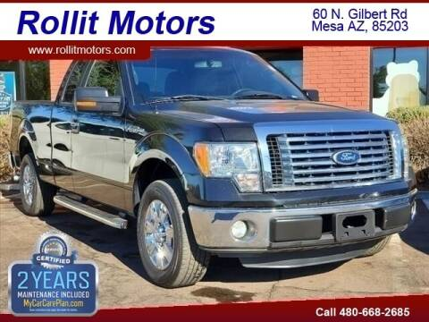 2011 Ford F-150 for sale at Rollit Motors in Mesa AZ