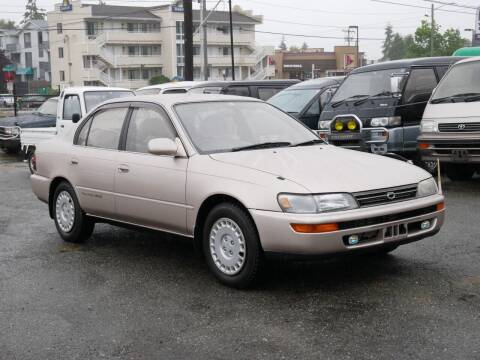 1992 Toyota Corolla Diesel 4WD for sale at JDM Car & Motorcycle LLC in Seattle WA