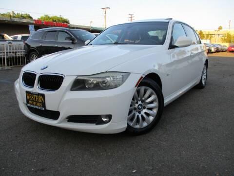 2009 BMW 3 Series for sale at WESTERN MOTORS in Santa Ana CA