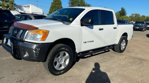 2008 Nissan Titan for sale at Universal Auto Inc in Salem OR