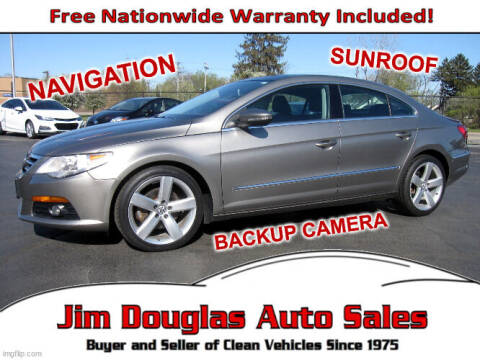 2011 Volkswagen CC for sale at Jim Douglas Auto Sales in Pontiac MI