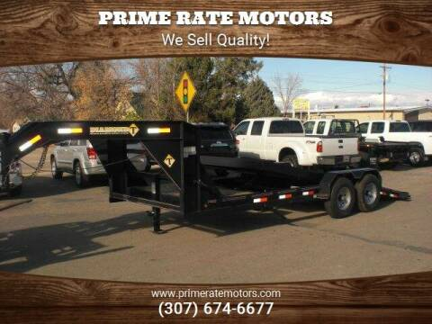 2021 Diamond-T 20' Goose-Neck Tilt Bed for sale at PRIME RATE MOTORS in Sheridan WY