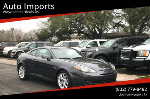 2008 Hyundai Tiburon for sale at Auto Imports in Houston TX