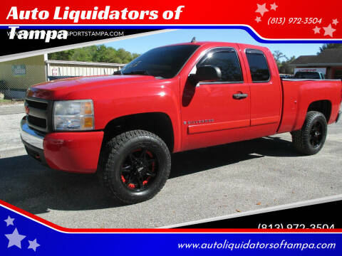 2008 Chevrolet Silverado 1500 for sale at Auto Liquidators of Tampa in Tampa FL