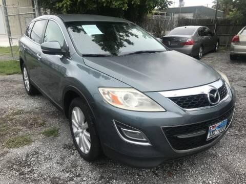 2010 Mazda CX-9 for sale at AMERICAN AUTO COMPANY in Beaumont TX