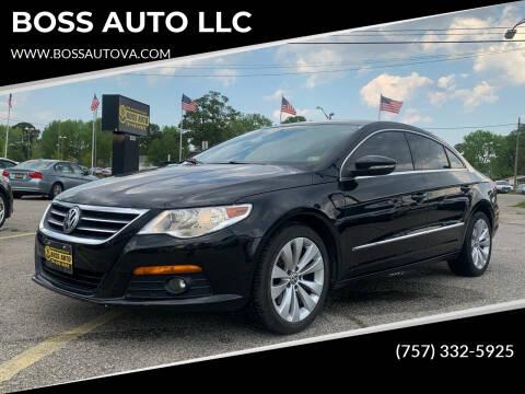 2010 Volkswagen CC for sale at BOSS AUTO LLC in Norfolk VA