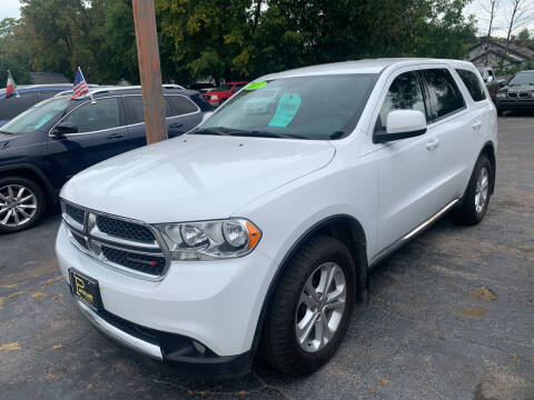 2013 Dodge Durango for sale at PAPERLAND MOTORS - Fresh Inventory in Green Bay WI