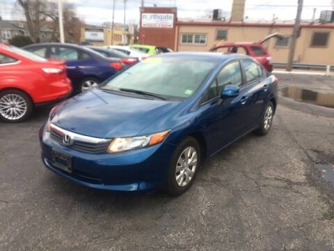 2012 Honda Civic for sale at Some Auto Sales in Hammond IN