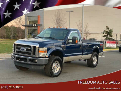 2008 Ford F-250 Super Duty for sale at Freedom Auto Sales in Chantilly VA