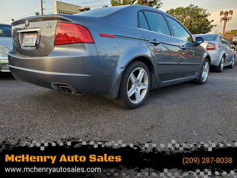 2005 Acura TL for sale at McHenry Auto Sales in Modesto CA
