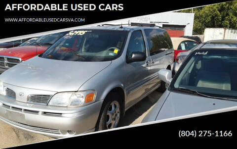 2003 Oldsmobile Silhouette for sale at AFFORDABLE USED CARS in Richmond VA