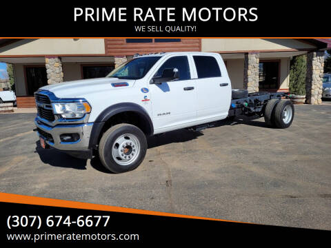 2020 RAM Ram Chassis 5500 for sale at PRIME RATE MOTORS in Sheridan WY