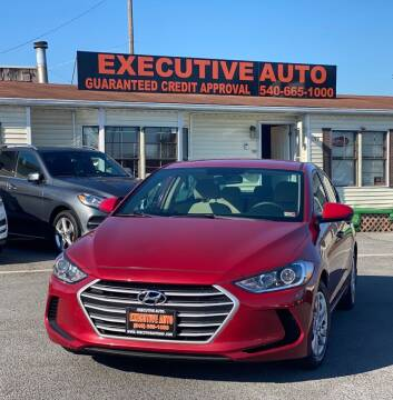 2017 Hyundai Elantra for sale at Executive Auto in Winchester VA