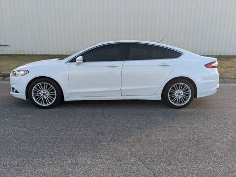 2016 Ford Fusion for sale at TNK Autos in Inman KS