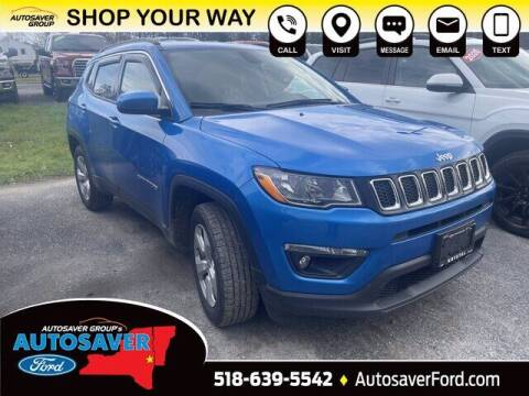 2018 Jeep Compass for sale at Autosaver Ford in Comstock NY